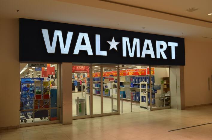 Магазин американского ретейлера Walmart