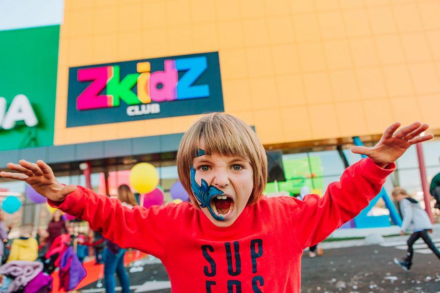Сеть детских спортивно-развлекательных центров Zkidz.club